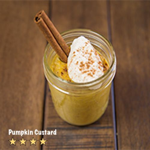 Slow Cooker Pumpkin Custard